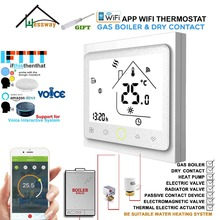 Works with Alexa Google Home EU 3A Gas Boiler Thermostat Switch WIFI Contact Valve Radiator for Dry Contact amp Passive Contact cheap HESSWAY Temperature Controller CN(Origin) 002GC 49°C Under Digital Indoor Charger Embedded 2 0 - 3 9 Inches Acrylic Built-in NTC