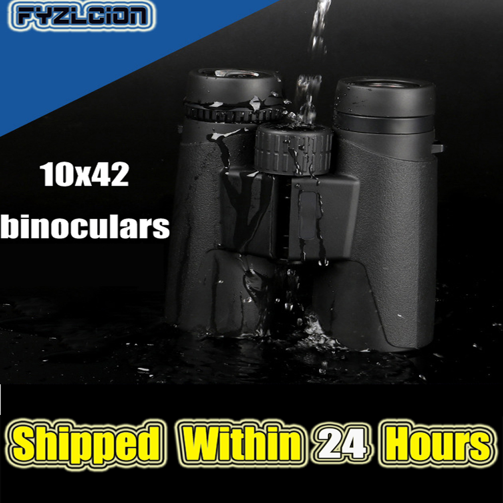 High Quality <font><b>10X42</b></font> <font><b>Binoculars</b></font> Military HD Non-infrared Low Light Night Vision Outdoor Professional Hunting Telescope image