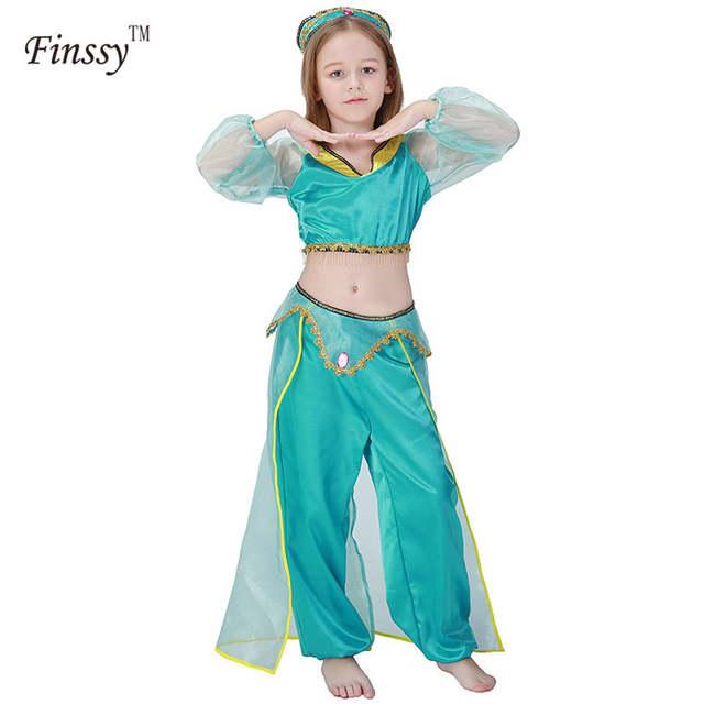 Online Shop Madchen Aladdin Der Lampe Jasmin Prinzessin Kostume