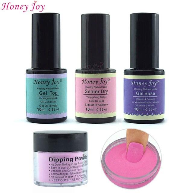 18g/Box French Pink and White Dipping Powder No Lamp Cure Nails Dip ...