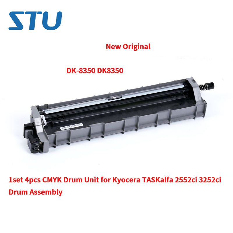 DK-8350 DK8350 1set 4pcs CMYK New Original Drum Unit for Kyocera <font><b>TASKalfa</b></font> <font><b>2552ci</b></font> 3252ci TA2552ci TA3252ci Cylinder Drum Assembly image