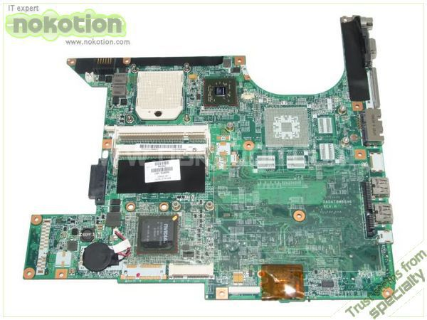 все цены на NOKOTION 442875-001 LAPTOP MOTHERBOARD for HP PAVILION F500 F700 V6000 DV6000 G06100 DDR2 Full Tested free shipping онлайн