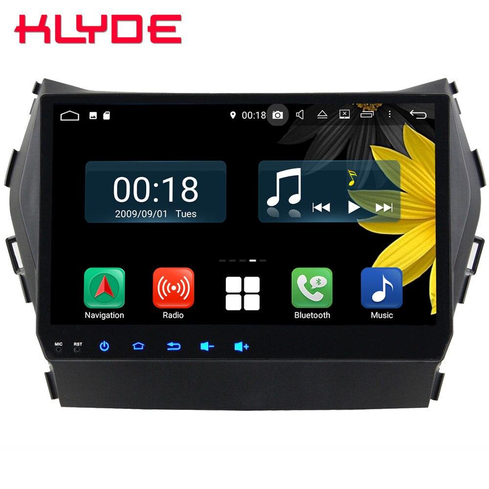 9 IPS Octa Core 4G Android 8.1 4GB RAM 64GB ROM Car DVD Player Radio GPS Glonass Navigation For Hyundai Santa Fe IX45 2013 2016