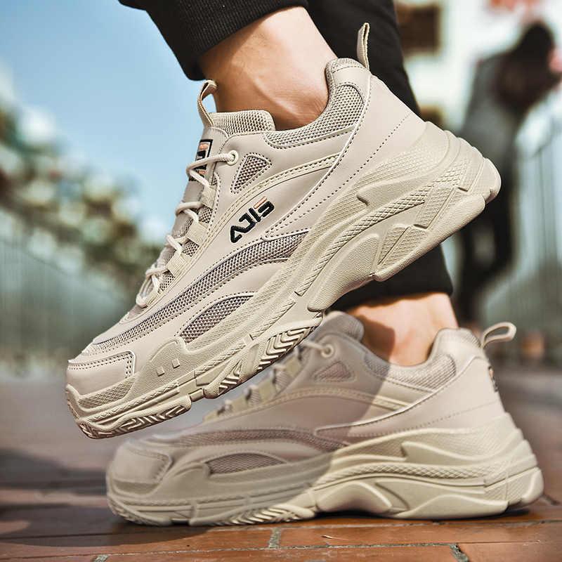 2019 hot Sneakers Paar rubberen Zool Loopschoenen Brand Hoge kwaliteit Outdoor Comfortabele Effen Vasthoudendheid zapatillas deportiva