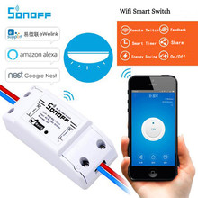 Sonoff Wireless Remote Control Wifi Switch,Intelligent Timer Switch Diy Switch 220V Control Via Android IOS For Smart Home