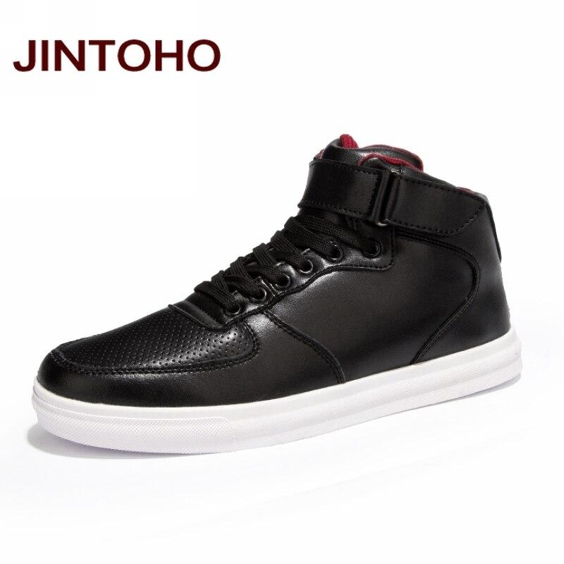 Prix pour JINTOHO Respirant Hommes Skate Chaussures Extérieur et Intérieur Sport Chaussures de Sport Hommes Sneakers Appartements Hommes Cheville Bottes