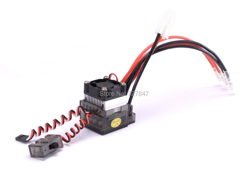 NEW 7.2V-16V 320A High Voltage ESC Brushed Speed Controller RC Car Truck Buggy Boat Hot Selling 0 28 4 digit dc 0 33 00v 0 999 9ma 3a voltage current meter red blue