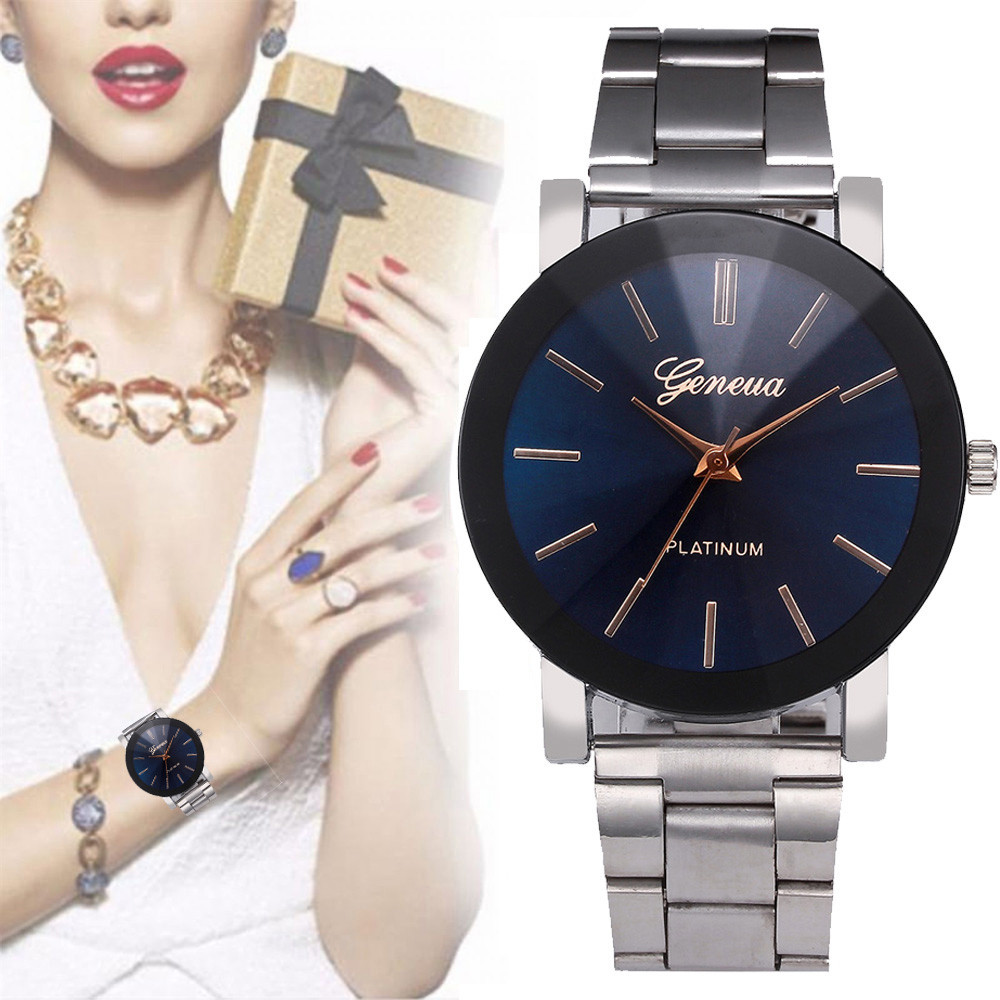 Watch women Quartz Dress Women Brand Women Watches Ladies Crystal Stainless Steel Bracelet Mens Clock Sale Relogio feminino 4* xinge top brand luxury women watches silver stainless steel dress quartz clock simple bracelet watch relogio feminino
