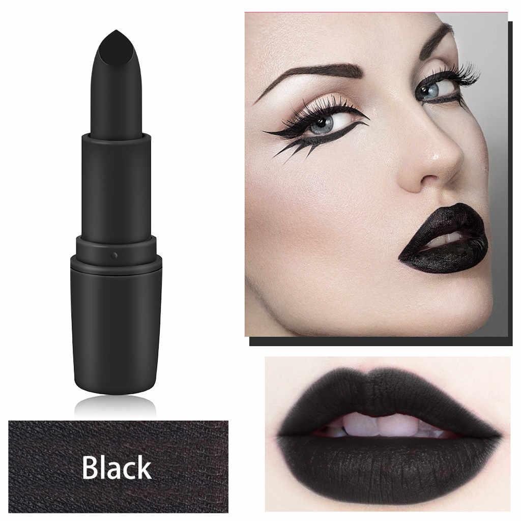 12 צבע כפול סוף שפתיים איפור שפתון עיפרון עמיד למים לאורך זמן גוון סקסי אדום מקל יופי מט אוניית עט lipstickF4.13