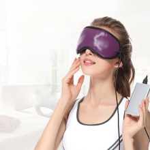Electric Eye Massage Sleep Travel Heat Compress Patch Eyes Spa Lavender Magnetic Therapy