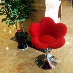 Cadeira giratória elevada da barra da forma do tipo da flor do tamborete da barra