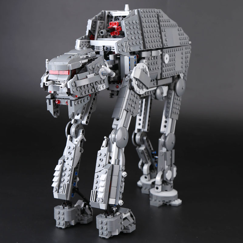 Lepin 05130 1541Pcs the Genuine Star Plan Series The First order heavy assault walker Set LegoINGlys 75189 Building Blocks Toys rose flower led garland on batteries string light valentine s day christmas indoor celebration wedding decoration fairy lights