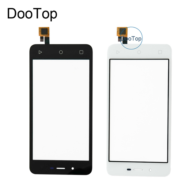 Top Quality For Micromax Canvas Spark Q380 Touch screen digitizer touchscreen panel sensor lens glass replacement Russian