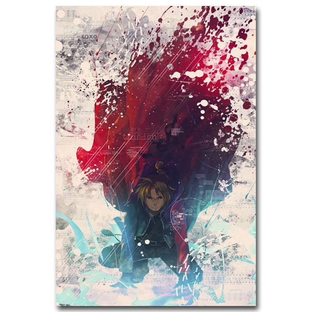 Fullmetal Alchemist Art Silk Poster Print 13×20 inch