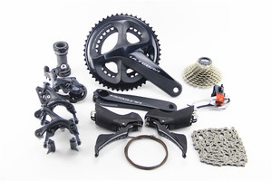 Image 2 - SHIMANO R8000 Groupset ULTEGRA R8000 Derailleurs  ROAD Bicycle 50 34 52 36 53 39T 165 170 172.5 175MM 11 25 11 28 11 32T 6800