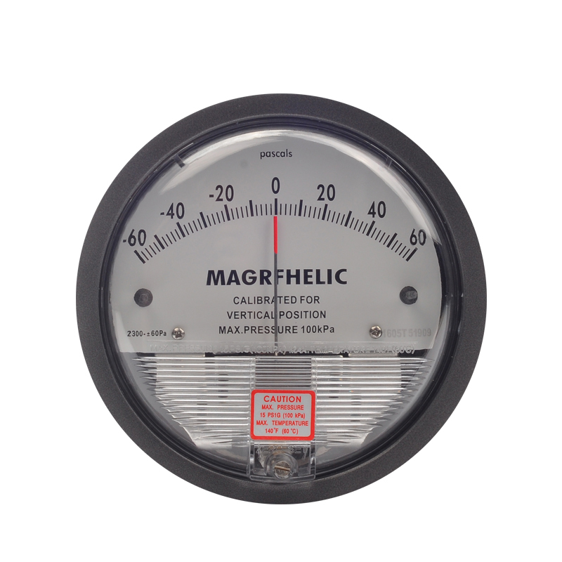 -60~60PA Micro Differential Pressure Gauge High Precision 1/8 NPT Air Pressure Meter Barometer New Arrial TE2000 0 1kpa micro differential pressure gauge te2000 high precision 1 8 npt air pressure meter barometer best sale