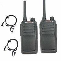 מכשיר הקשר שני הדרך 2PC 100% Geniue Xunlibao V10 מכשיר הקשר 16CH שני הדרך רדיו UHF 400-470MHZ FMR Ham ניידת רדיו 8W פנס לתכנות (1)