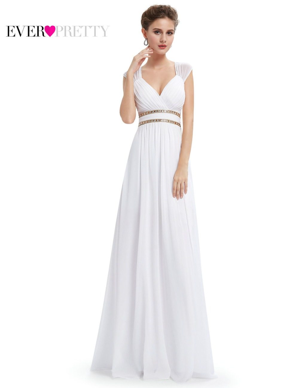 Formal Evening Dresses Long EP08697 Ever Pretty Women Elegant Navy ...