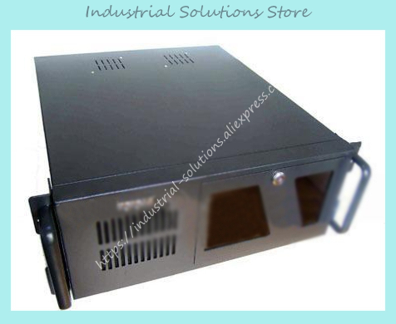 New 4U486 Computer Case 4U Industrial Computer Case 4U Server Computer Case 8 Hard Drive
