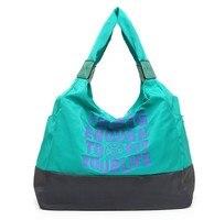 12 Color 2015 Korean Lightweight Nylon Cloth Shoulder Bags Portable Messenger Bag Waterproof Mummy Bag Large
