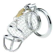 40 45 50mm for choose male metal Lancelot chastity device cock cage penis lock sex toys