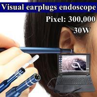 3 In1 Ear Cleaning USB Endoscope 5 5mm Visual Ear Spoon Earpick Otoscope Camera Hot