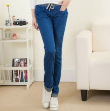 New 2017 Spring Summer Womme's jeans Pants Female Casual Skinny Stretch Plus Size Denim Trousers Long Pencil Pants Harem Pants