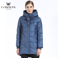 GASMAN Brand Women Bio Down Jacket And Parka Long For Women Winter Thickening Hooded Coat Women New Winter Collection 2019