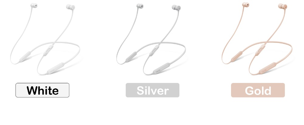 Beats BeatsX Wireless Bluetooth W1 Chip In-ear Earphones w/Mic Hands-free Calls Stereo Music support MobilePhone