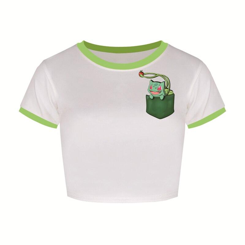 font-b-pokemon-b-font-bulbasaur-colheita-top-padrao-verde-dos-desenhos-animados-tshirt-ir-bare-barriga-de-manga-curta-esporte-mulheres-tanque-t-bonito-encantador-ftjst