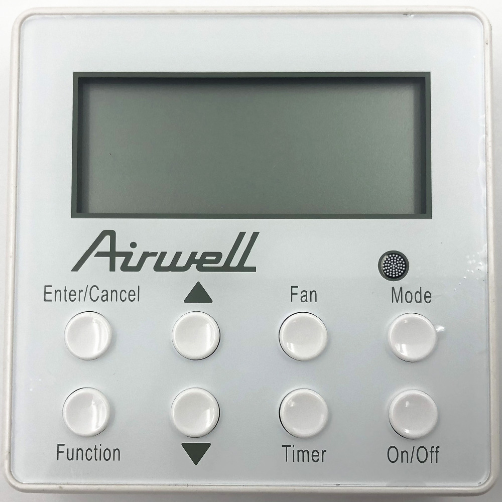 Wired Remote Controller RCWE 30294000007 ZX4K35JV18 U MATCH XK60 For Airwell Gree Sinclair DBDE CADE FADE
