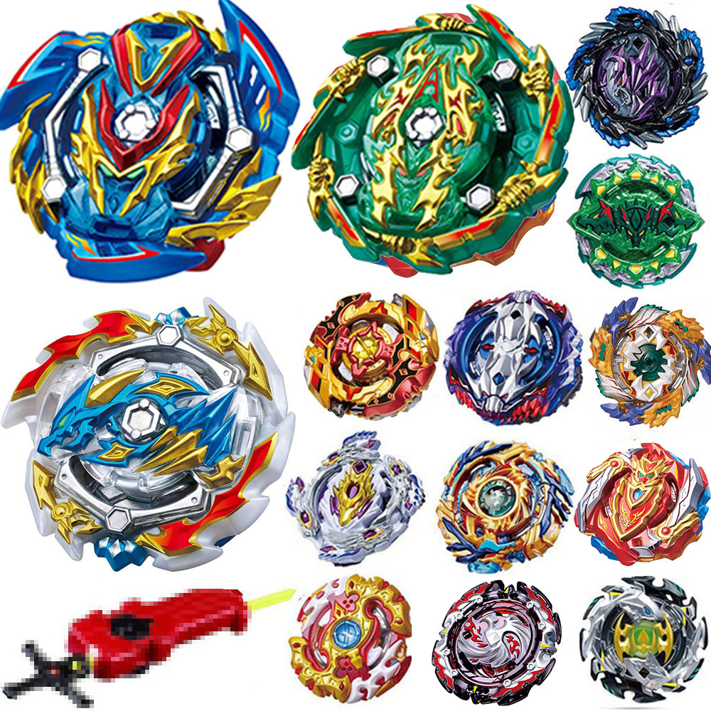 Tops Launchers <font><b>Beyblade</b></font> <font><b>Burst</b></font> God <font><b>B</b></font>-<font><b>133</b></font> <font><b>B</b></font>-134 <font><b>B</b></font>-139 Bey blade blades High Performance Battling Top Toys For Kids Bables Bayblade image
