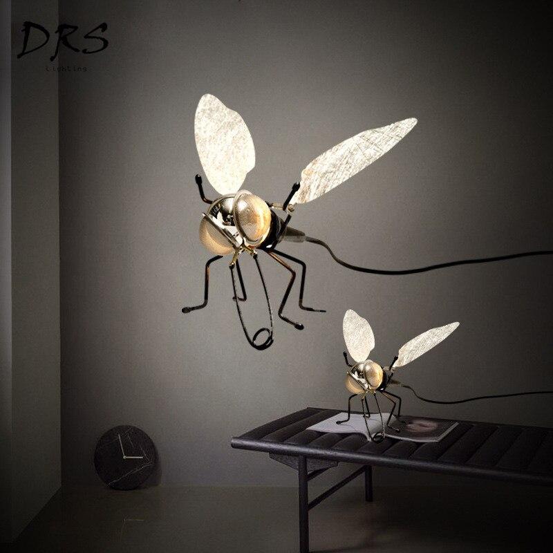 Artpad Modern Creative Bedroom Decorative Wall Light AC220V Fly Shaped LED Wall Lamp with Plug and Switch(E14 Bulb Included)Artpad Modern Creative Bedroom Decorative Wall Light AC220V Fly Shaped LED Wall Lamp with Plug and Switch(E14 Bulb Included)