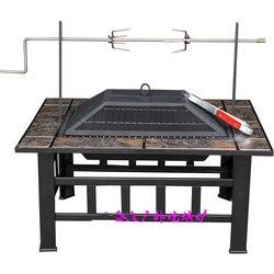 Multifunções lareiras ao ar livre para churrasco e obter o aquecimento