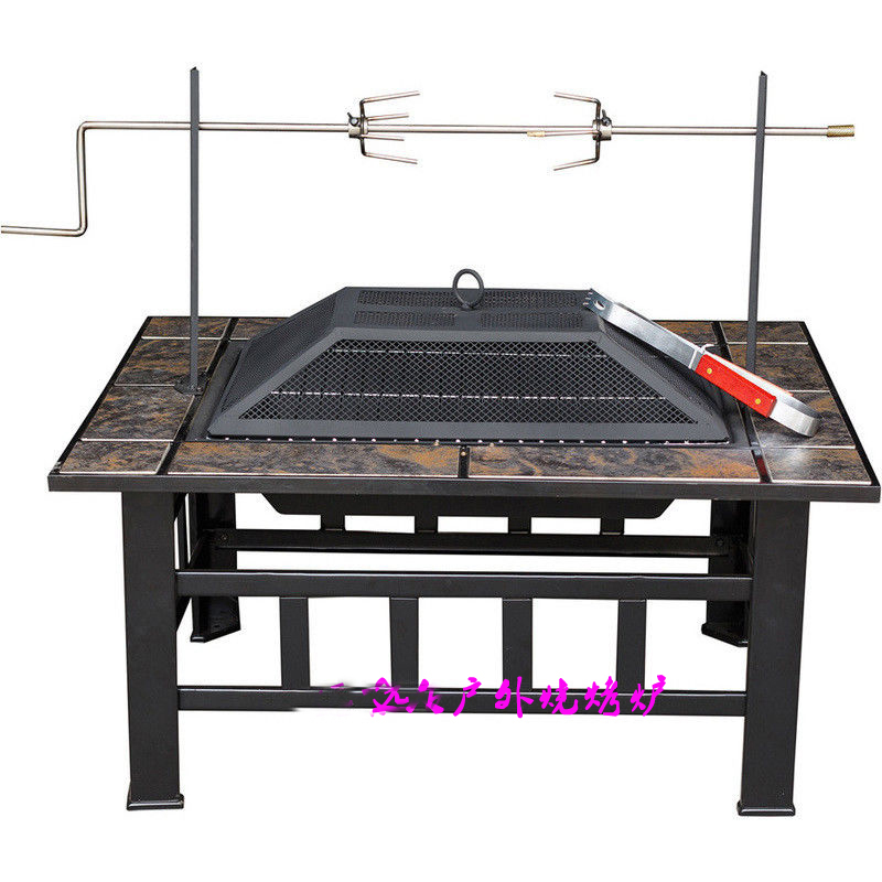 Multifunction  Outdoor Fireplaces For Bbq And Get Warming