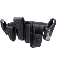 High Quality Multifunctional 1000D Nylon Military Tactical Security Belts Polices Utility Heavy Duty Army Combat Belt w/ Pouches