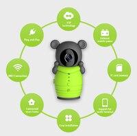 Wireless WIFI APP Mobile Remote Control IP Camera Intercom Baby Monitor
