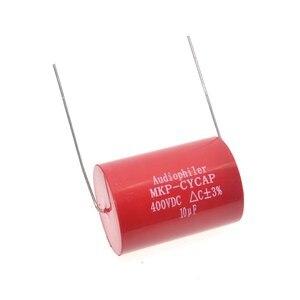 Image 5 - Бесплатная доставка 10 шт. Audiophiler Axial MKP 10 мкФ 400VDC HIFI DIY аудио класса конденсатор для гитарных усилителей