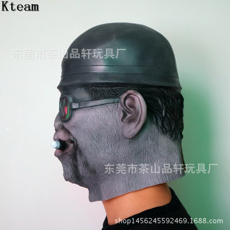 b666eb1aaa3 Top Grade 100% Latex Chimp Cigar Monkey Mask Gorilla Ape Head Mask Bruno  Mars Lazy Song Animal Primate Fancy Dress Halloween COS-in Party Masks from  Home ...