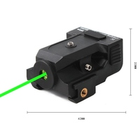 Lasers 101G Green Laser Sight Outdoor Tactic Green Laser Sight Rifle LED Flash Rail Mount