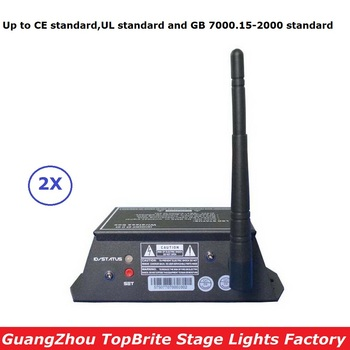 2X Free Ship 2.4G Wirless DMX Controller 126 Channels 300M Range DMX512 Wireless Receiver Transmitter 2IN1 Console LED Display цена 2017