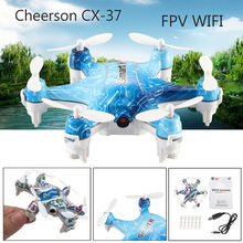 RC Plane Cheerson CX-37 Smart-H Mini Drone with Camera 0.3MP WiFi FPV Phone Control Photo Shooting Real Time Video Transmission