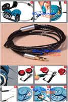 Czarna nowa aktualizacja posrebrzany kabel do słuchawek KOSS Porta Pro Portapro PP