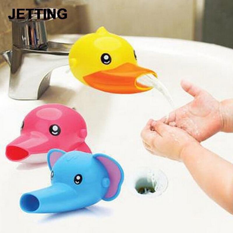 1 StÜcke Cartoon Glücklich Spaß Tiere Wasserhahn Extender Baby Kinder Händewaschen Waschbecken Geschenk 3 Farben Novel (In) Design;