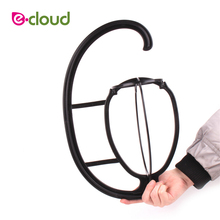 1Pcs/lot Black Color Wig Hanger Folding Stable Durable Hair Wig Stand Head Hat&Cap Display Holder Stand Tool Hair Accessories