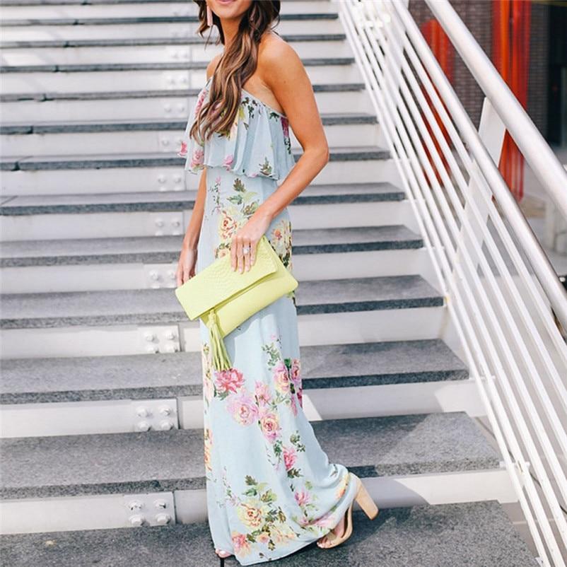 Fashion summer jumpsuit woman 2018 Strap Floral Sleeveless Backless Jumpsuit Long Wide Leg Trousers pantaloni siamesi J28#N (4)