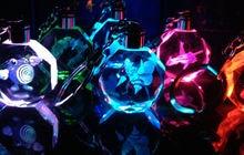 Pokemon Pocket Monster LED light Key Chain Pendant