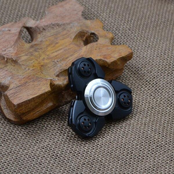 ФОТО 2017  handspinner fidget toy fidget spinner high quality Aluminum Finger Gyroscope Toy