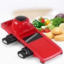 Lekoch 6 unidades blades mandoline slicer + 1 pelador de juliana máquina de cortar vegetales de frutas vegetales herramientas accesorios de cocina