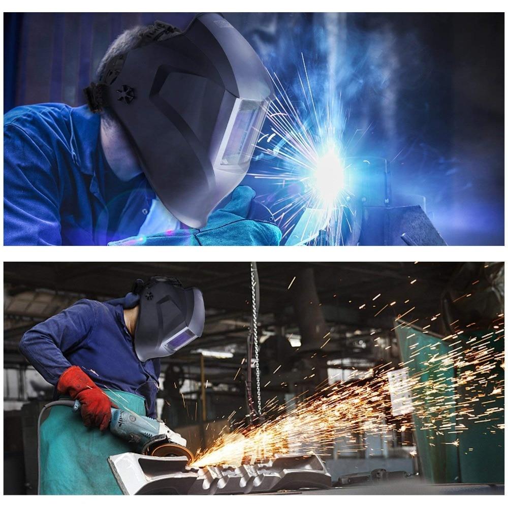 Tacklife PAH03D casco di saldatura con grandi dimensioni di visualizzazione 100 * 73mm 4 Premium